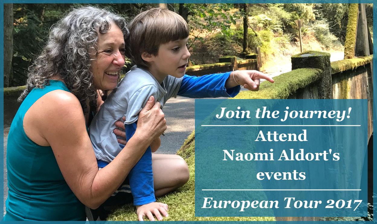 Naomi Aldort's events, workshop, European Tour 2017